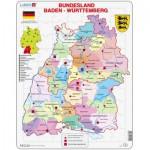 Larsen-K22 Puzzle Cadre - Bundesland : Baden Württemberg (en Allemand)