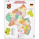 Larsen-K26 Puzzle Cadre - Bundesland : Rheinland-Pfalz (en Allemand)