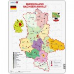 Larsen-K31 Puzzle Cadre - Bundesland : Sachsen-Anhalt (en Allemand)