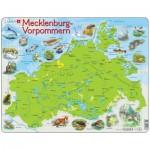 Larsen-K94 Puzzle Cadre - Mecklenburg-Vorpommern (en Allemand)
