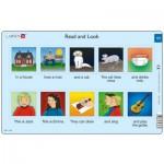 Larsen-RA6-11 Puzzle Cadre - Apprendre l'Anglais : Read and Look 11 (en Anglais)