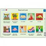 Larsen-RA9-17 Puzzle Cadre - Apprendre l'Anglais : Read and Look 17 (en Anglais)