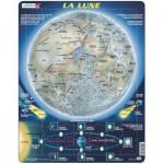 Larsen-SS5-FR Puzzle Cadre - La Lune (en Français)