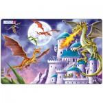 Larsen-U12-1 Puzzle Cadre - Les Dragons attaquent !