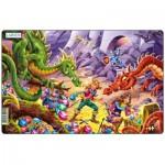 Larsen-U12-2 Puzzle Cadre - Les Dragons attaquent !