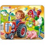 Larsen-Z11-2 Puzzle Cadre - Tracteur