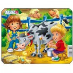 Larsen-Z11-4 Puzzle Cadre - Vache