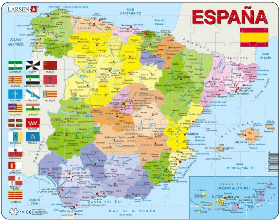 carte en espagnol