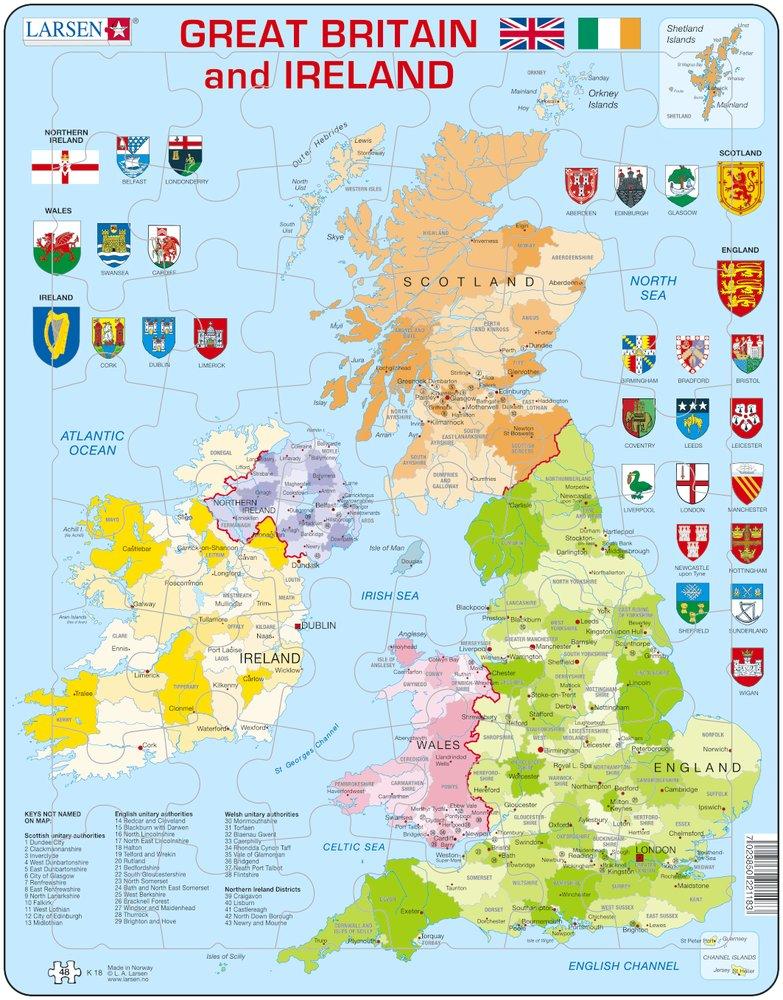 carte anglaise