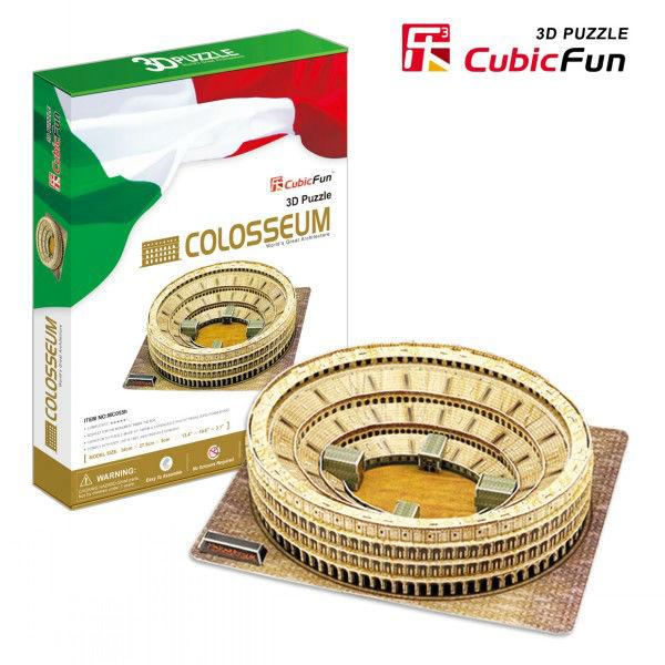 Puzzle 3D - Italie, Rome : Le Colisée Cubic Fun