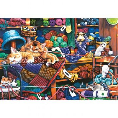 44753 Puzzle 2000 pièces Jardin Secret