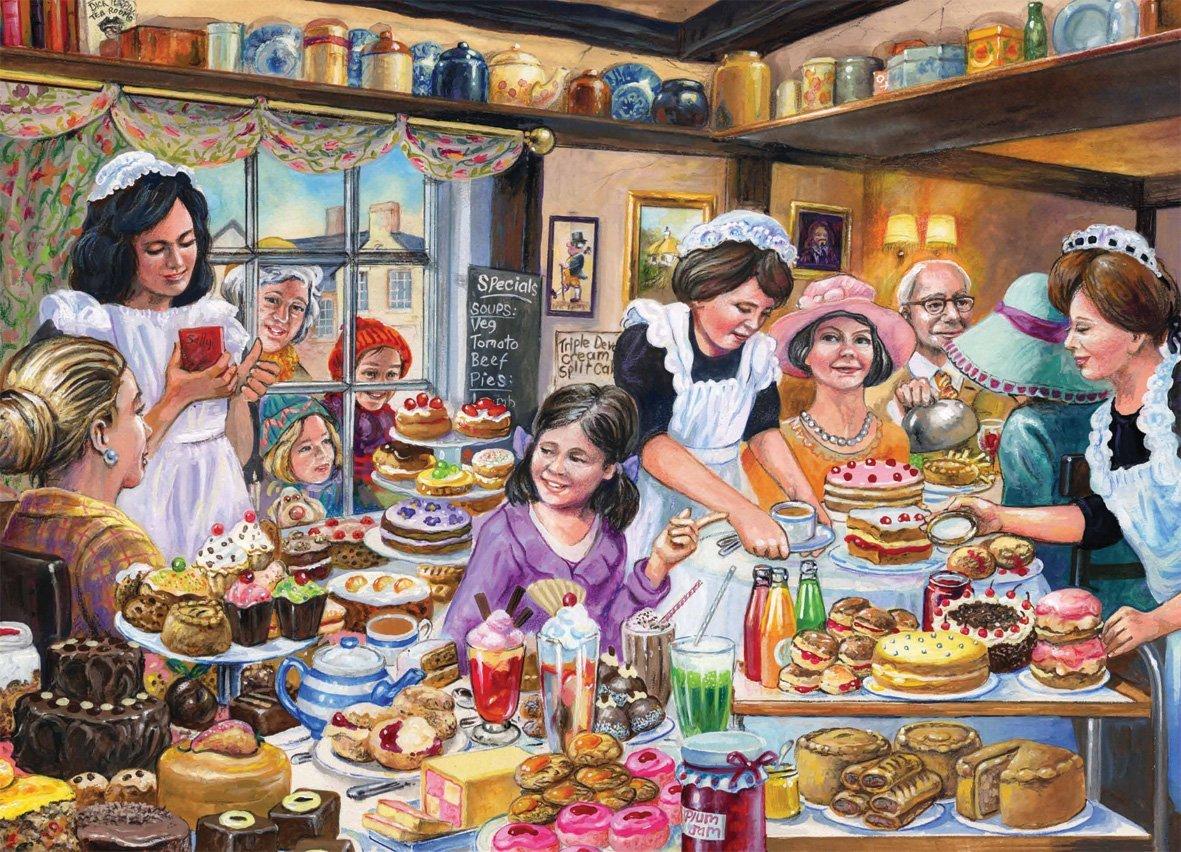 Puzzle Jim Mitchell : Ye olde Tea Shoppe Falcon