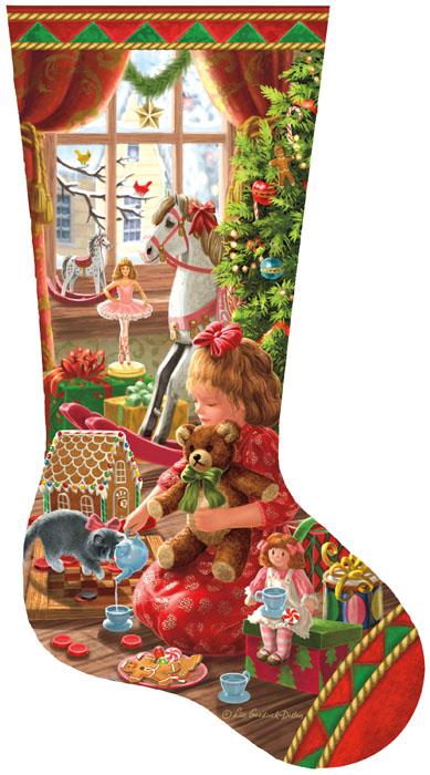 Liz Goodrick Dillon - A Girl's Stocking
