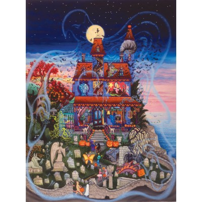 Puzzle Kathy Jakobsen - The Ghost and the Haunted ...