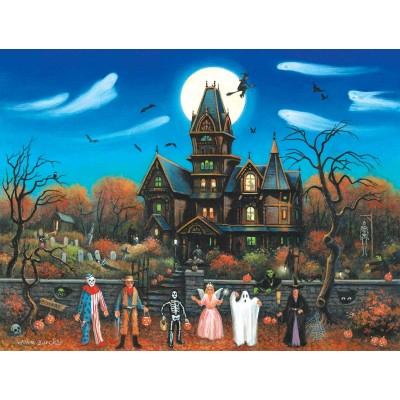 Puzzle Pièces XXL - Trick or Treaters Beware Suns...