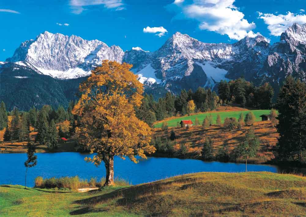 Puzzle Alpes Bavaroises KS Games