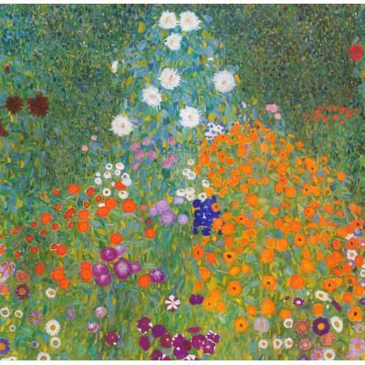 Puzzle Gustav Klimt : Jardin fleuri, 1905-1907 Grafika-00023 1500 ...