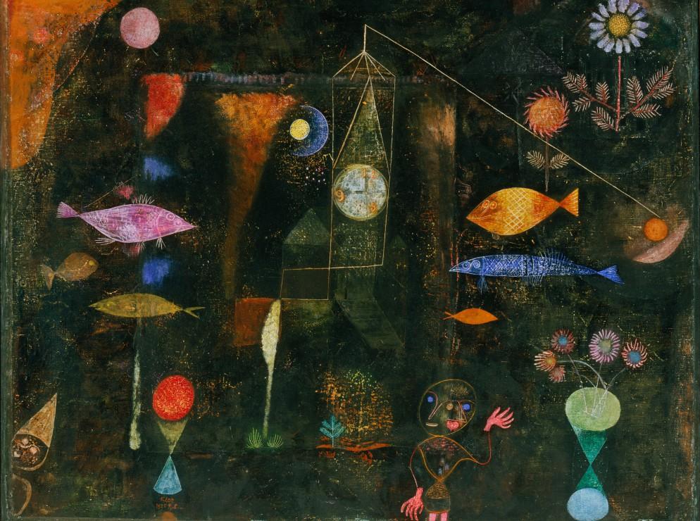 Puzzle Paul Klee : Magie des poissons, 1925 Grafika