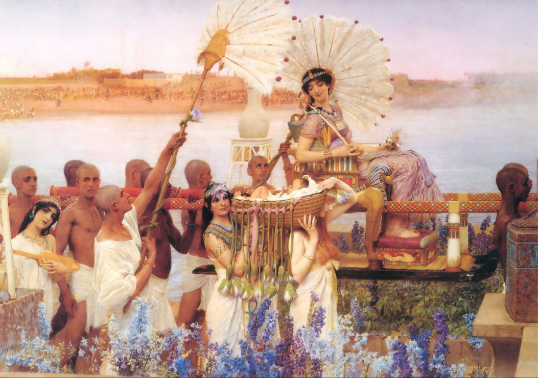 Puzzle Sir Lawrence Alma-Tadema : The Finding of Moses Grafika
