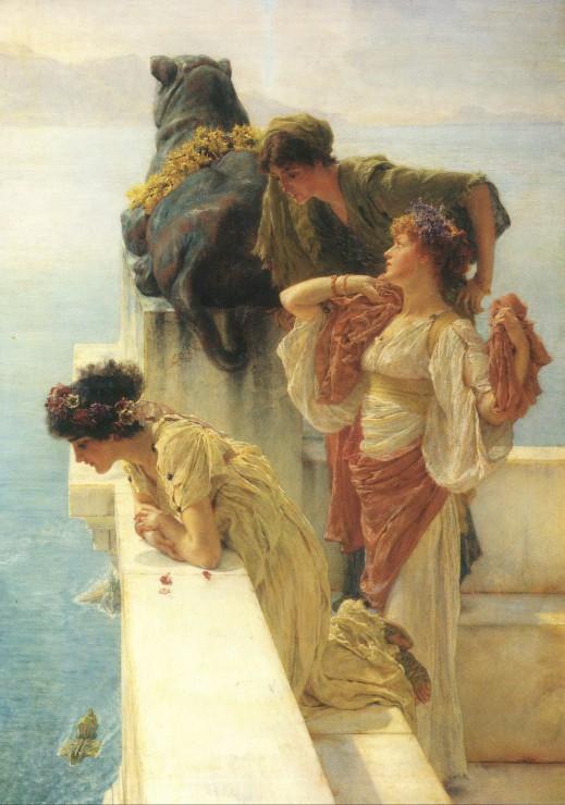 Puzzle Sir Lawrence Alma-Tadema : A Coign of Vantage, 1895 Grafika