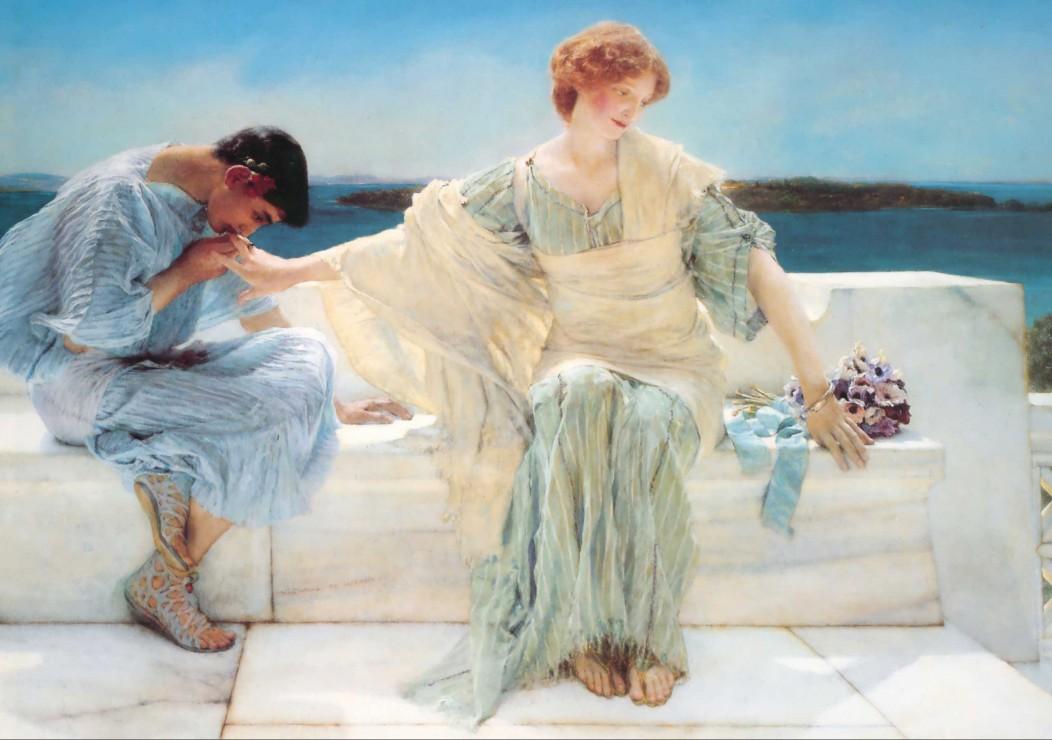 Puzzle Sir Lawrence Alma-Tadema : Ask me no more, 1906 Grafika