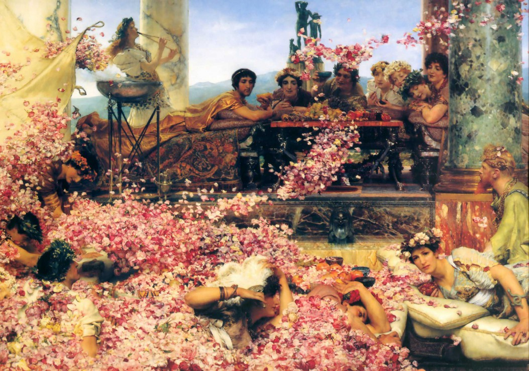Puzzle Sir Lawrence Alma-Tadema : The Roses of Heliogabalus Grafika