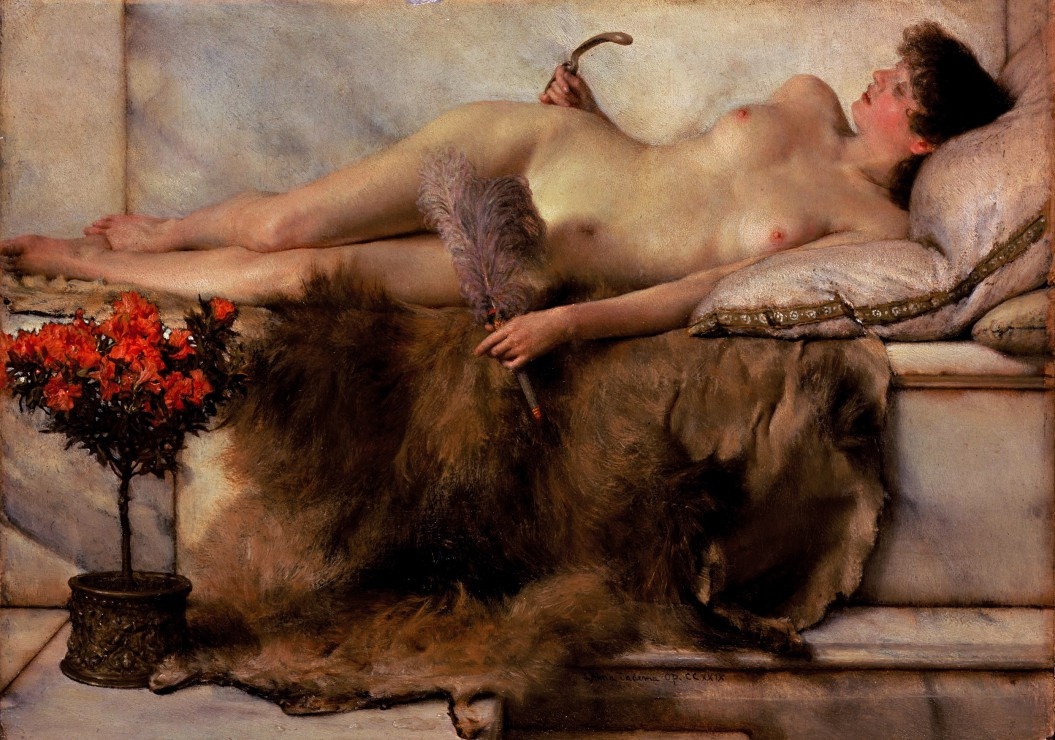 Puzzle Sir Lawrence Alma-Tadema : In the Tepidarium Grafika