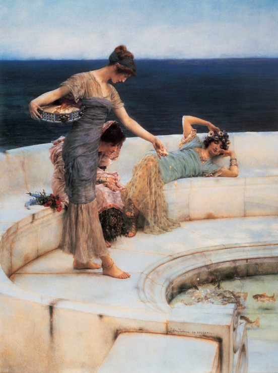 Puzzle Sir Lawrence Alma-Tadema : Silver Favourites, 1903 Grafika