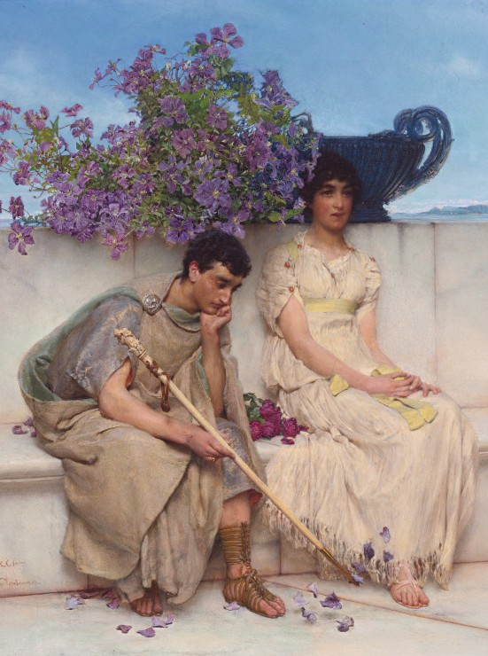 Puzzle Sir Lawrence Alma-Tadema : An eloquent silence Grafika