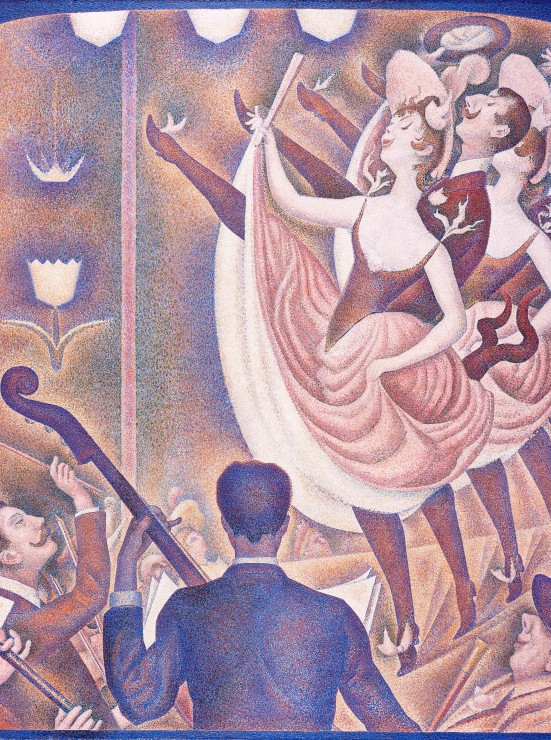 Puzzle Georges Seurat : Can Can (Le Chahut), 1890 Grafika