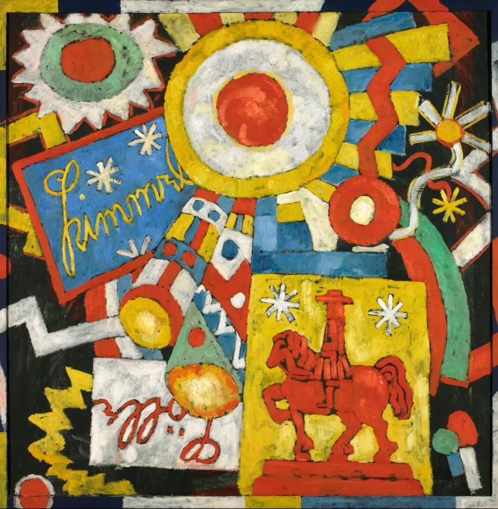 Puzzle Marsden Hartley : Himmel, 1914-1915 Grafika