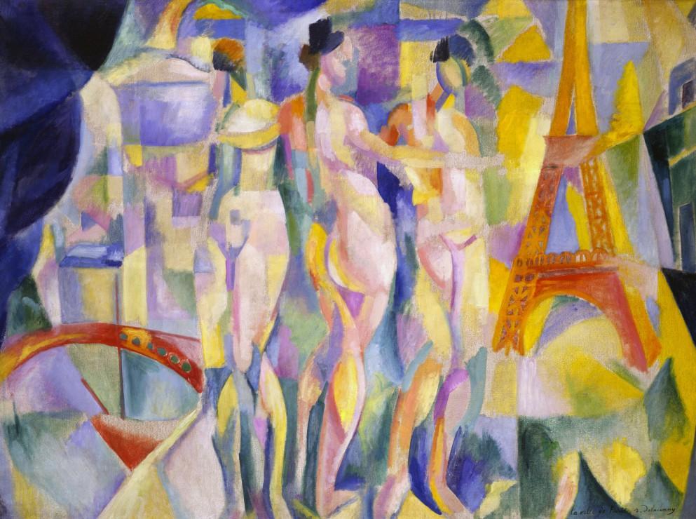 Puzzle Robert Delaunay : La ville de Paris, 1912 Grafika