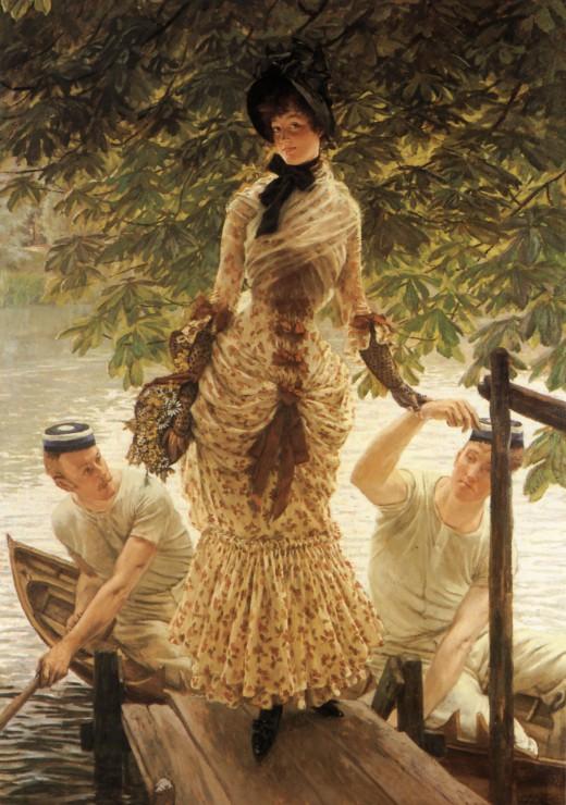 Puzzle 1000 pièces James Tissot : Sur la Tamise, 1882 Grafika
