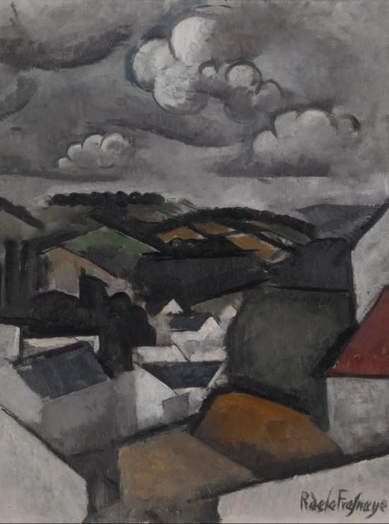 Puzzle Roger de La Fresnaye : Paysage avec un Village, les Collines de Meulan