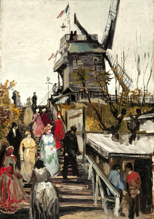 Puzzle Van Gogh Vincent : Le Moulin de Blute-Fin, 1886 Grafika