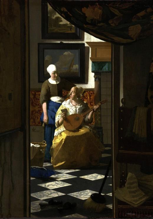 Puzzle Vermeer Johannes : La lettre d´amour, 1669-1670 Grafika