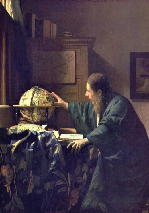 Puzzle Vermeer Johannes : L´Astronome, 1668 Grafika