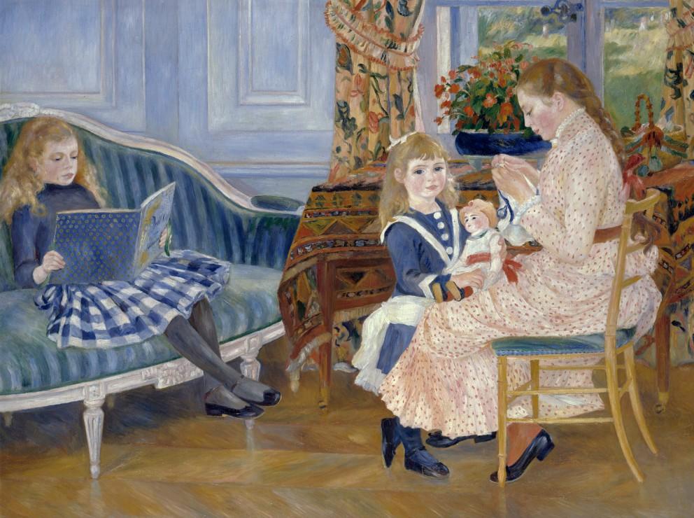 Puzzle Auguste Renoir : L´après-midi des enfants à Wargemont, 1884
