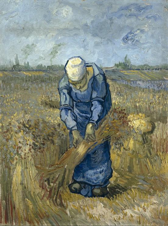 Puzzle Vincent Van Gogh: Femme Paysan d´après Millet Grafika