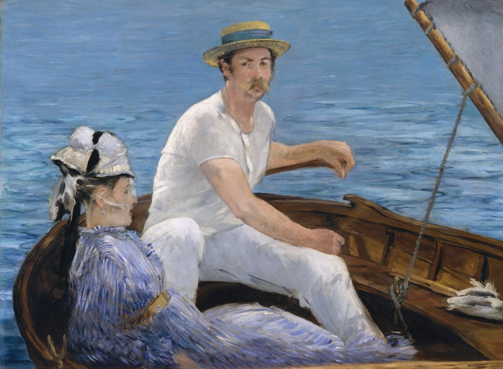 Puzzle Edouard Manet : En Bateau, 1874 Grafika