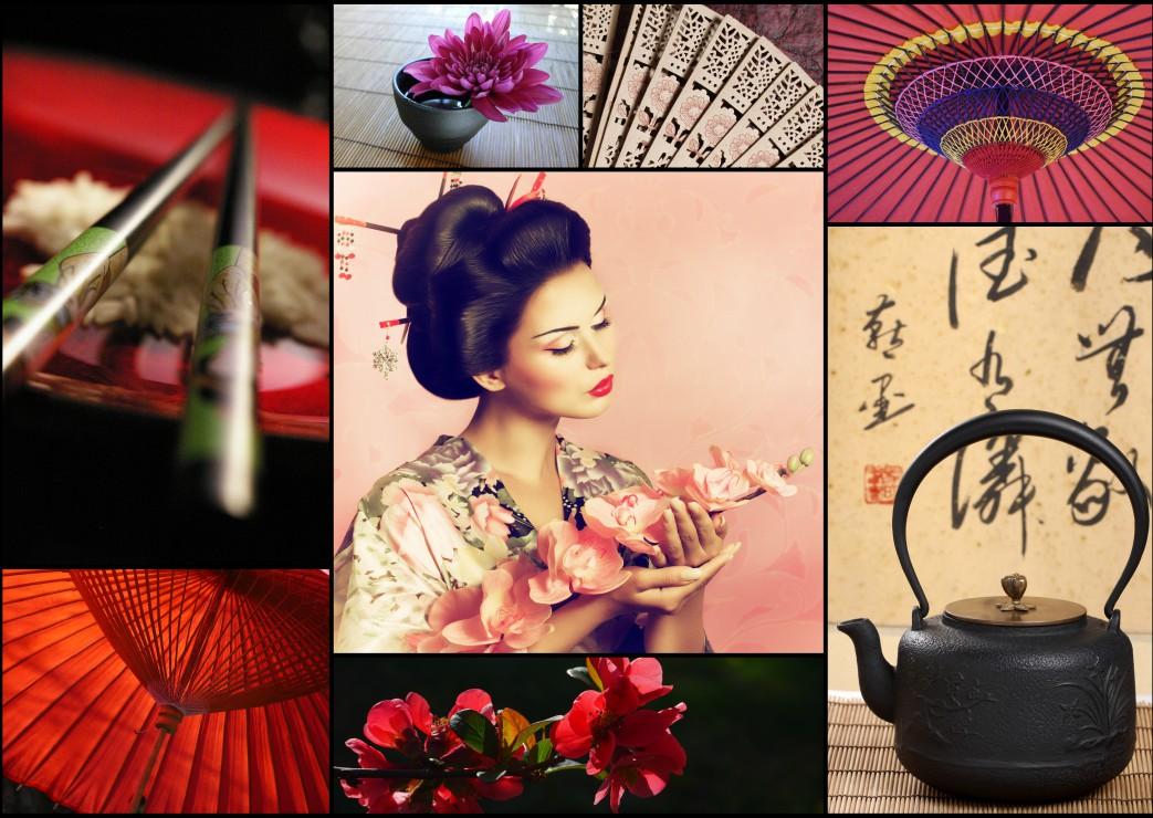 Puzzle Collage - Japon Grafika