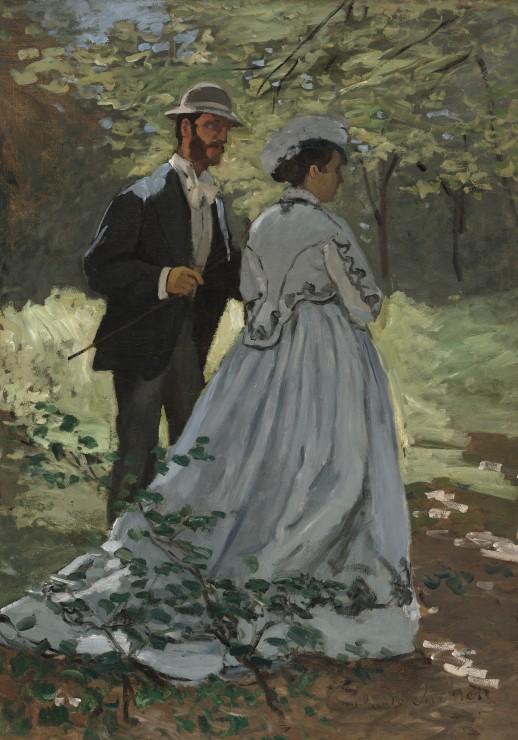 Puzzle Claude Monet - Bazille et Camille, 1865 Grafika
