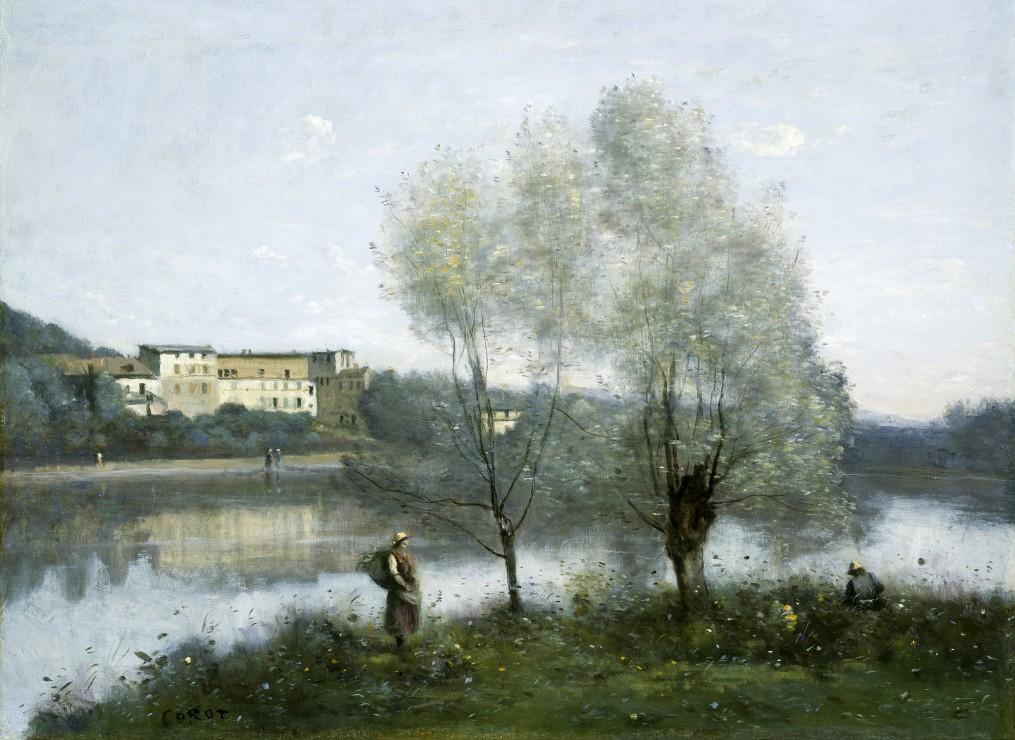 Puzzle Jean-Baptiste-Camille Corot : Ville-d´Avray, 1865 Grafika