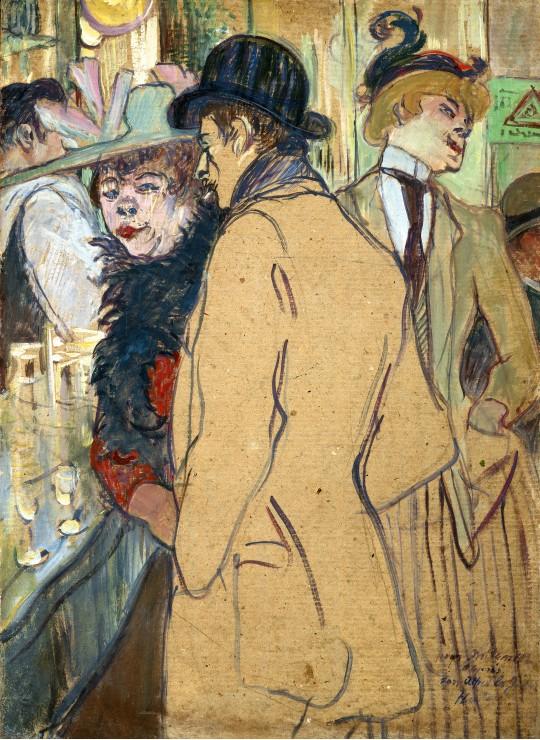 Puzzle Henri de Toulouse-Lautrec : Alfred la Guigne, 1894 Grafika