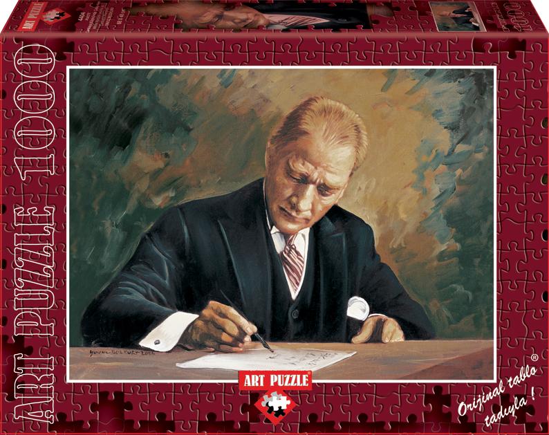 Puzzle Ghazi Mustafa Kemal Atatürk au Palais de Çankaya Art Puzzle