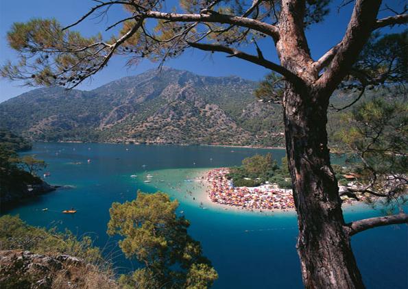 Puzzle Turquie, Mer Morte : Fethiye , Région de Muğla Art Puzzle
