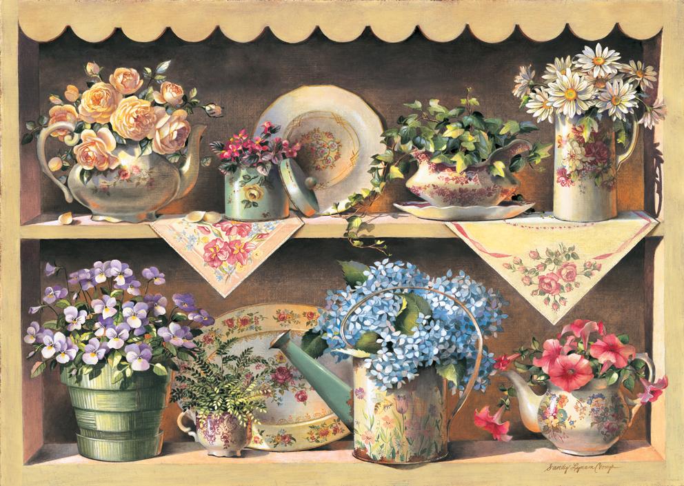 Puzzle en Bois - Cupboard Garden Art Puzzle