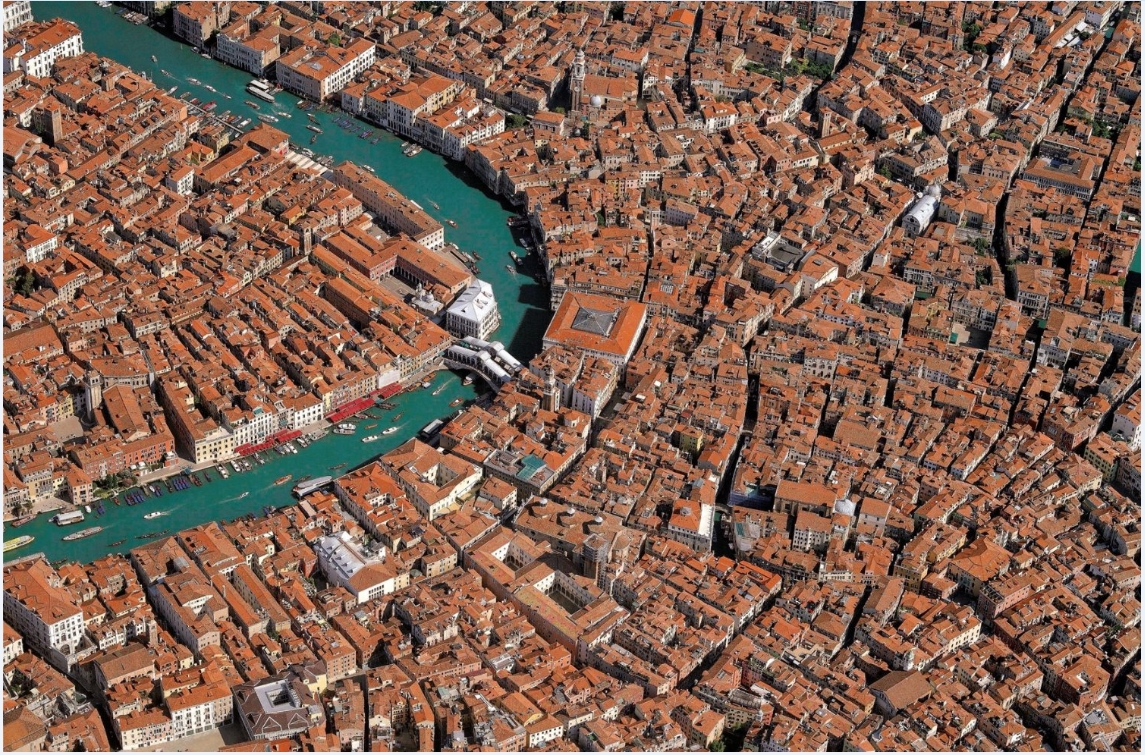 Puzzle Collection Skyview : Venise vue du ciel Piatnik