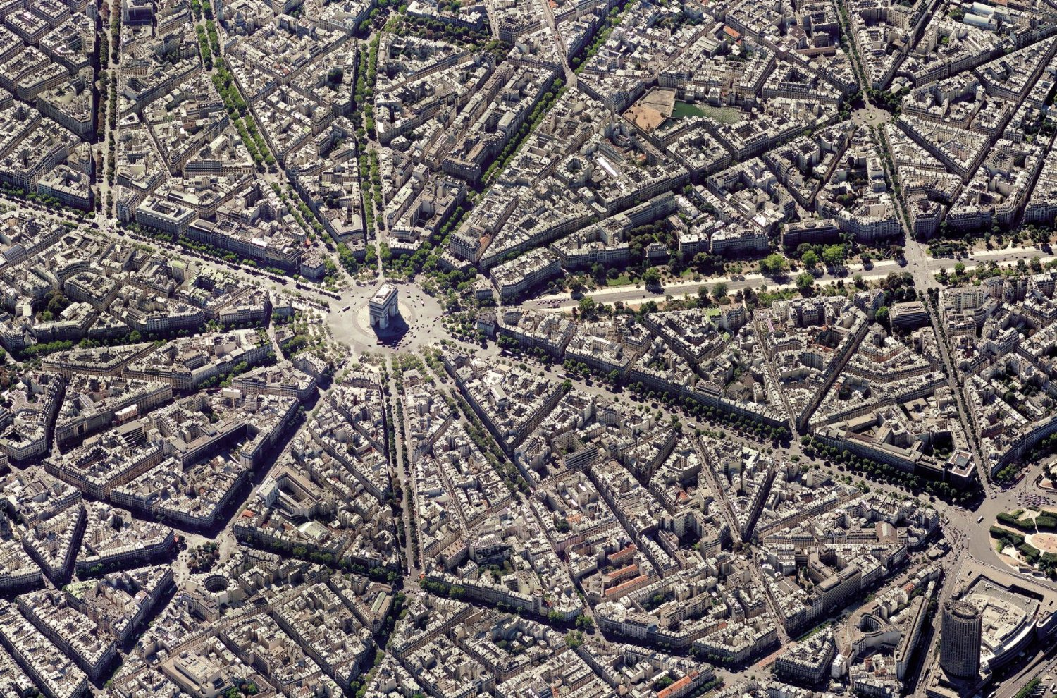 Puzzle Collection Skyview : Paris, vue du ciel Piatnik