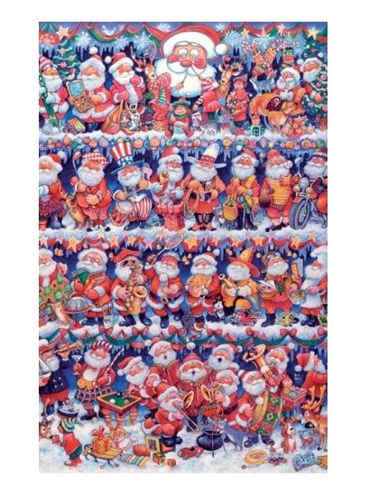 Puzzle La Parade de Noël Piatnik